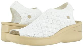 Bzees Secret (Black Knit) Women's Sandals