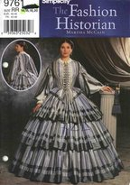 Simplicity Sewing Pattern 9761 Misses' Civil War Dress / Gown