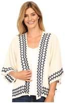 Stetson Cream Cotton Gauze Kimono