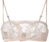La Perla Lace Story bandeau bra - women - Silk/Cotton/Nylon/Spandex/Elastane - 32B