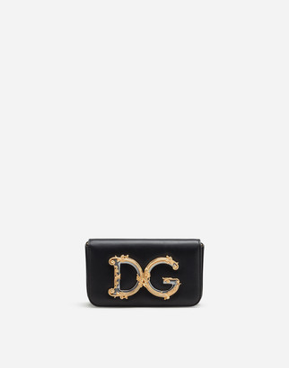 Dolce & Gabbana Girls Clutch In Calfskin
