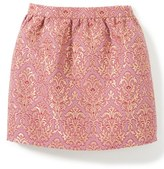 Girl's Peek Natalie Metallic Jacquard Skirt