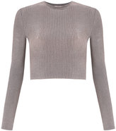 Cecilia Prado knitted cropped top - women - Spandex/Elastane/Viscose - P