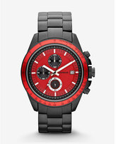 Express chronograph stainless steel watch