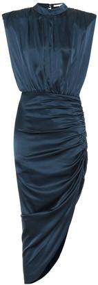 Veronica Beard Kendall stretch-silk midi dress