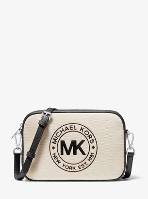 MICHAEL Michael Kors Fulton Sport Large Canvas Crossbody Bag