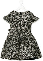 David Charles Kids - floral dress - kids - Cotton/Polyester/Acetate/Metallic Fibre - 2 yrs