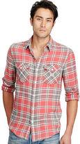 Denim & Supply Ralph Lauren Plaid Cotton Twill Workshirt