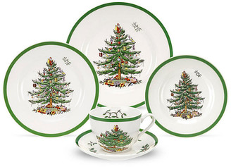 Spode Asst. of 5 Christmas Tree Place Settings