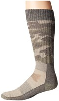 Smartwool Hunt Medium Camo Crew (Fossil) Crew Cut Socks Shoes