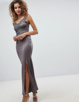 AX Paris AX Patis A Line Maxi Dress With Embellished Detail