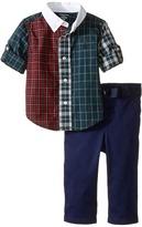 Ralph Lauren Poplin Chino Twill Fun Pants Set (Infant)