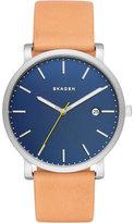 Skagen Hagen Leather Watch