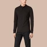 Burberry Contrast Tipping Cotton Piqué Polo Shirt