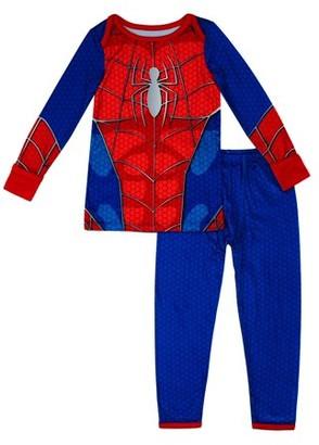 Spiderman Toddler Boys Thermal Long Underwear, 2pc Set