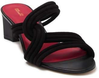Diane von Furstenberg Jada Block Slide Sandal