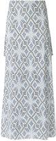 Cecilia Prado knit maxi skirt - women - Acrylic/Lurex/Viscose - PP