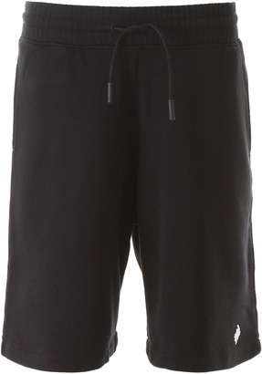 Marcelo Burlon County of Milan Bermudas With Logo Embroidery