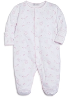 Kissy Kissy Girls' Rockabye Buggy Print Footie - Baby