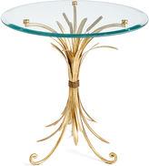 One Kings Lane Wheat-Sheaf Side Table, Gold