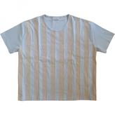 Balenciaga Blue Cotton Top