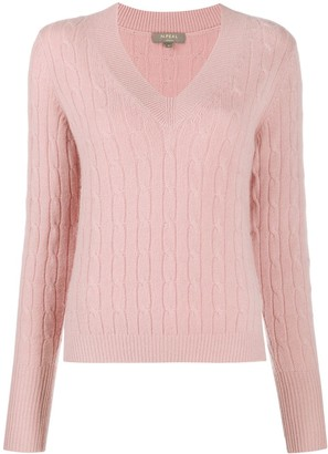 N.Peal Side Slit Cashmere Sweater