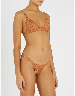 Hot As Hell HAH-Chi stretch-lace bralette