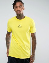 Jordan Nike 23/7 Basketball Jumpman T-Shirt In Yellow 840394-741