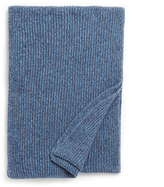 Johnstons of Elgin Jean Marl Cashmere Ribbed Scarf