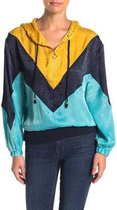 A.Calin Colorblock Windbreaker Jacket