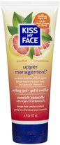 Kiss My Face Upper Management Styling Gel with Argan Oil, 6 oz