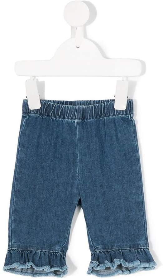 Il Gufo ruffled jeans