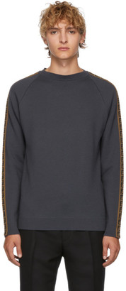 Fendi Grey Forever Sweater