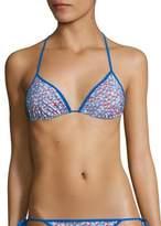 Diane von Furstenberg Antibes String Bikini Top