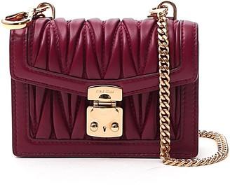 Miu Miu Matelasse Mini Crossbody Bag