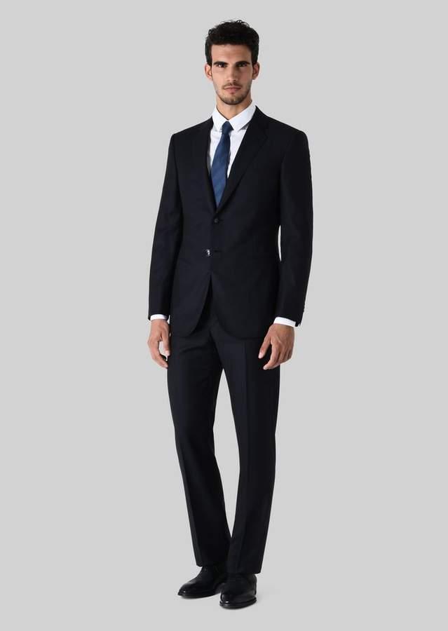 Giorgio Armani Wall Street Wool Suit