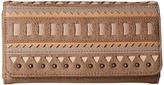 American West El Dorado Flap Wallet Wallet Handbags