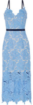 Catherine Deane Frida Guipure Lace Midi Dress