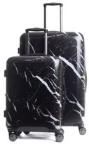 CalPak Astyll 30 Inch Spinner & 22 Inch Spinner Luggage Set - Black