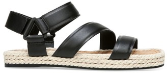 Vince Elian Leather Espadrille Sport Sandals