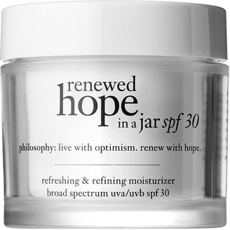 philosophy Renewed Hope in A Jar SPF 30 Moisturizer