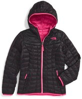 The North Face Girl's 'Reversible Thermoball(TM)' Hooded Primaloft Jacket