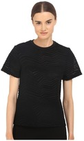 Neil Barrett Fragmented Line Small Masc. Jersey T-Shirt