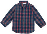 Jo-Jo JoJo Maman Bebe Check Shirt (Toddler/Kid) - Navy-3-4 Years