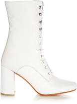 Maryam Nassir Zadeh Emmanuelle lace-up leather boots