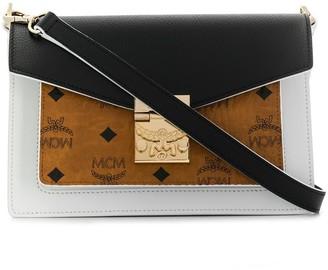 MCM Colour Block Shoulder Bag
