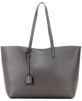 Saint Laurent East-West leather shopper