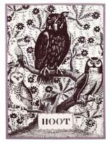Thomas Paul Hoot Tea Towel