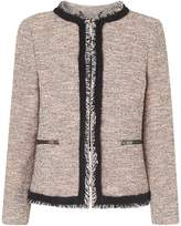 LK Bennett Gee Pink Tweed Jacket