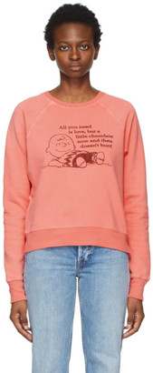 RE/DONE Pink Peanuts Edition All You Need Sweatshirt